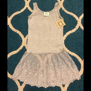 NWT SUMMER TUNIC DRESS SIZE S (7-8)